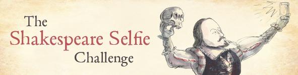 Canadian Shakespeare Selfie Challenge