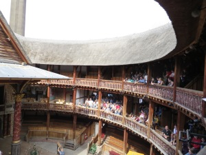 The Globe Theatre was a hightlight of my trip to Europe in August 2013.