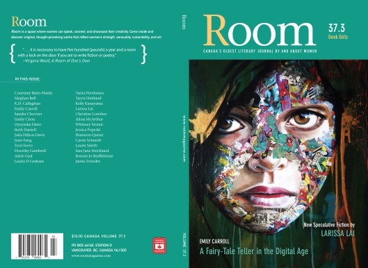 ROOM Magazine 37.3 Geek Girls Cover