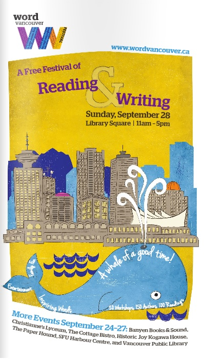Word Vancouver Festival Program Cover