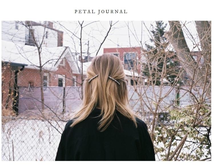 Petal Journal Image edit