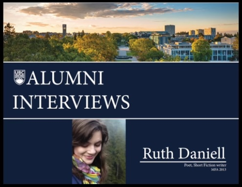 UBC Alumni Interview - December 15 2015
