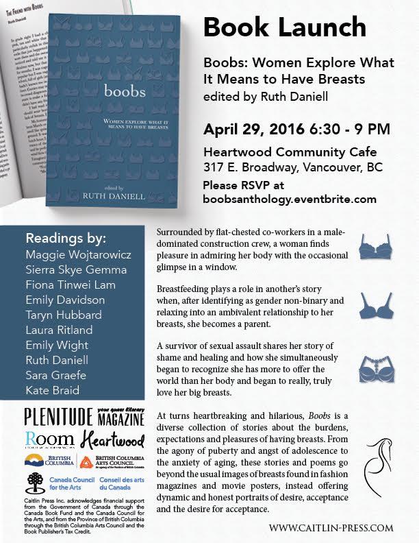 Boobs Book launch - vertical