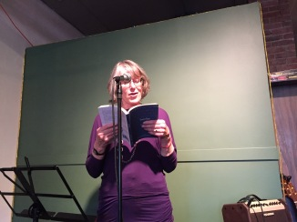"Kate Braid read her two poems from the book: ""Always Keep Your Tools Sharp"" and ""Breasts."""