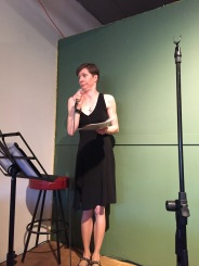 "Maggie Wojtarowicz wowed the audience with her moving performance of ""Reclaiming my Thorns"""