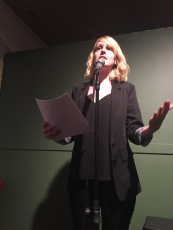 "Emily Davidson read from her story of female friendship, ""The Exhibitionist"""
