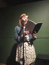 "Taryn Hubbard entertained us with an excerpt from ""Pinches,"" her story about confidence, bras, and adolescent media"