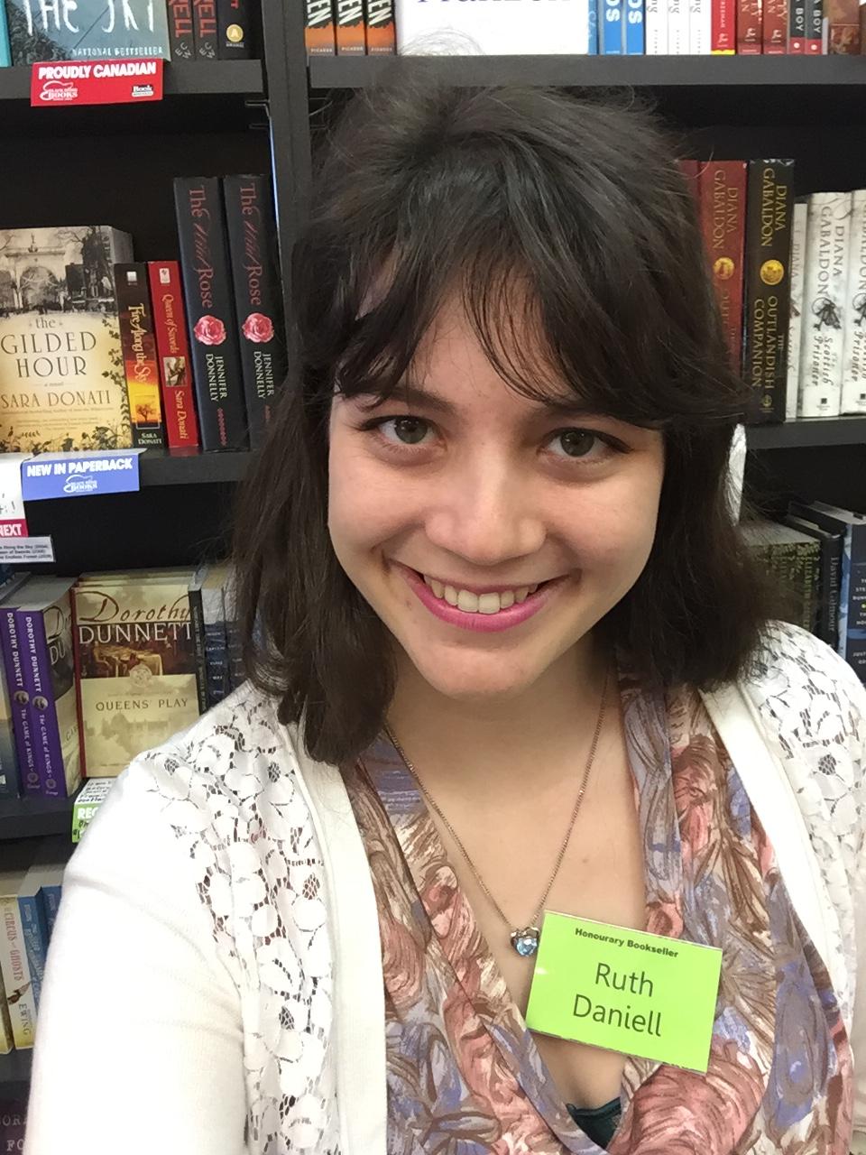 Ruth Daniell: Honourary Bookseller