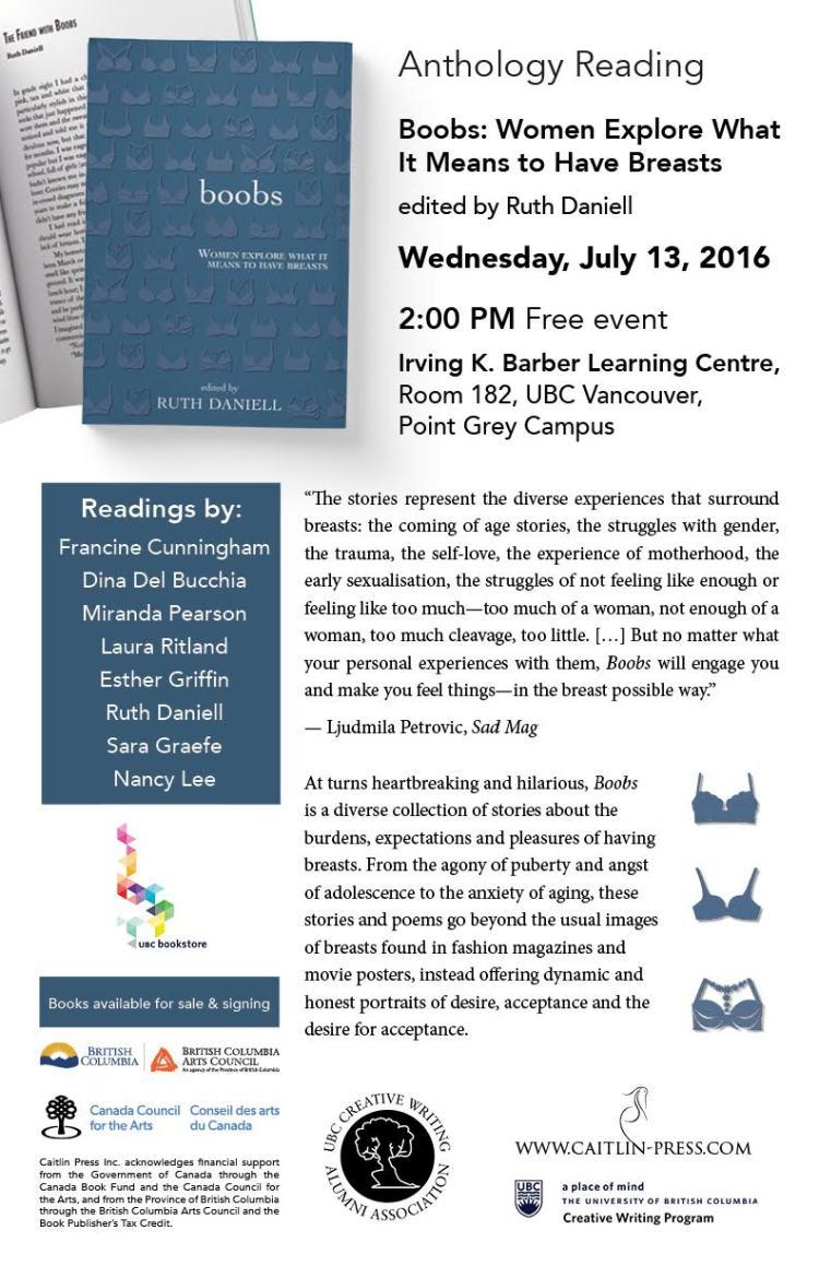 Boobs UBC reading